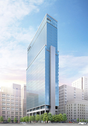 (仮称)新橋一丁目ビル 新築工事