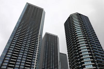 晴海のタワーマンション群