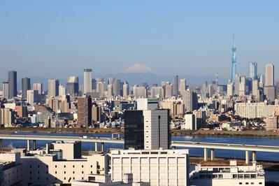 船堀駅前トキタワーからの眺め?