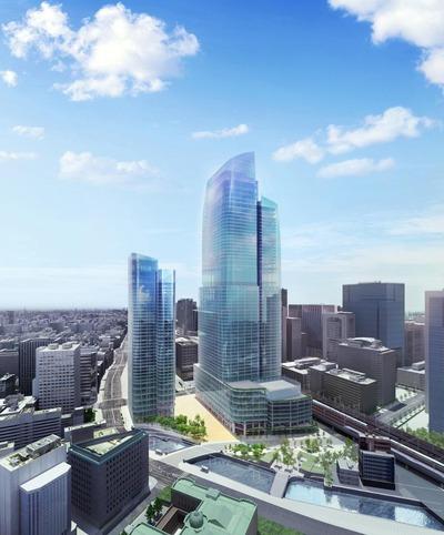 常盤橋街区再開発プロジェクト 外観イメージ