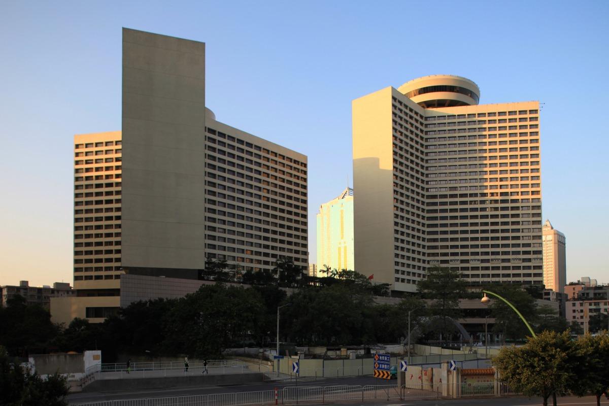 広州の花園飯店(Garden Hotel) : 超高層マンション・超高層ビル