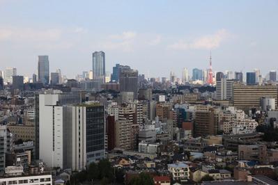 中目黒アトラスタワーから六本木・東京タワー方面