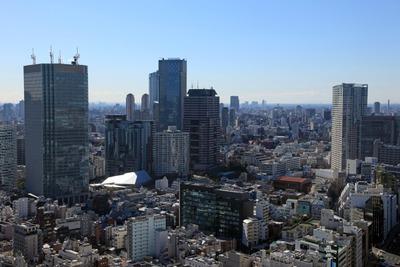 赤プリから赤坂方面の眺め