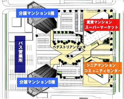 (仮称)香椎照葉5丁目計画 配置図