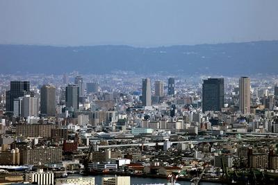 コスモタワーからの眺め