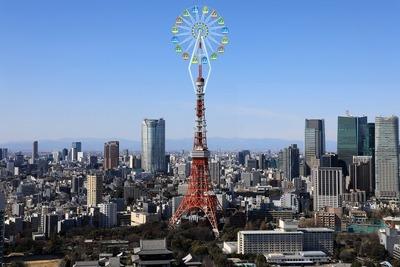 東京タワー観覧車