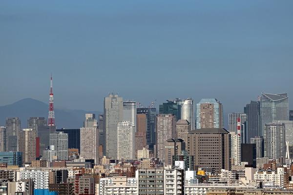 東京の超高層ビル群