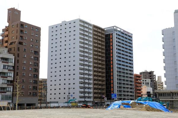 20階建てマンション群