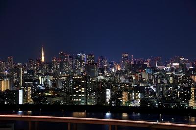 2010年最後の東京夜景