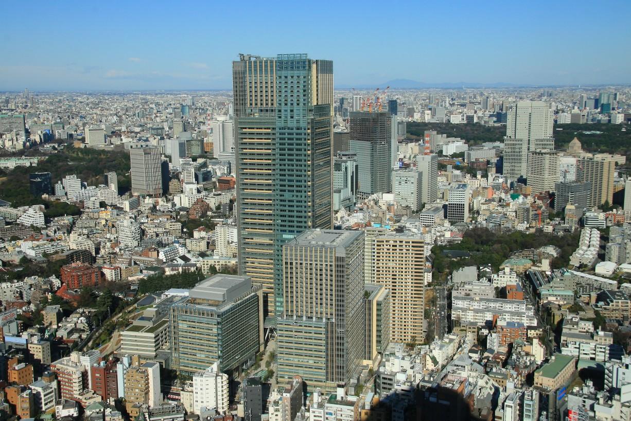 東京ミッドタウンは遠くから ...