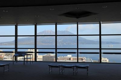 鹿児島県庁舎の展望室