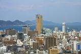香川県庁舎からの眺め