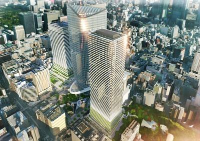 (仮称)虎ノ門ヒルズ レジデンシャルタワー 完成予想図