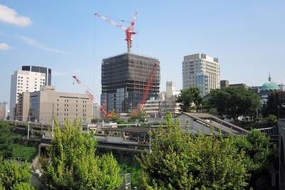 建設中の御茶ノ水ソラシティ