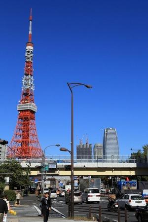 東京タワーと環二・�街区