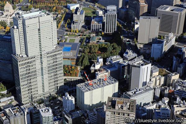 赤坂国際ビルの空撮