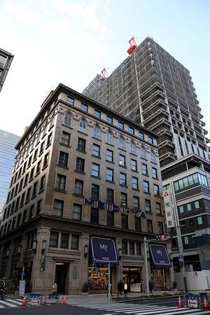 京橋二丁目西地区第一種市街地再開発事業施設建設物(歴史的建築物棟)改修工事