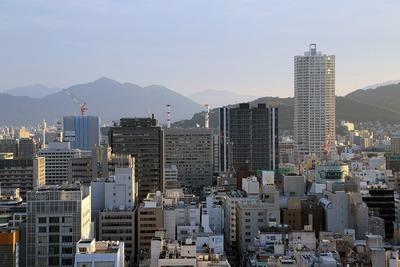 三井ガーデンホテル広島からの眺め
