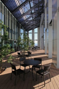 オリックス本町ビルの展望テラス