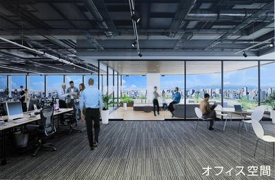豊洲ベイサイドクロス オフィス空間