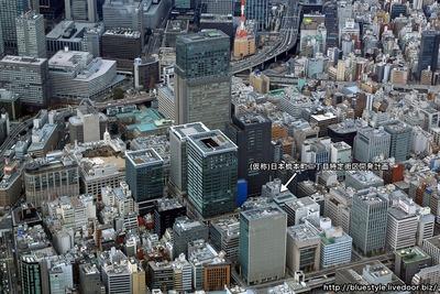 日本橋室町・日本橋本町の空撮
