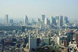 六本木ヒルズから新宿方面の眺め