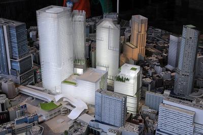 渋谷駅周辺地域都市模型