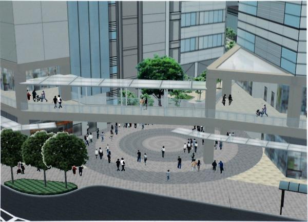 南小岩六丁目地区第一種再開発事業 広場