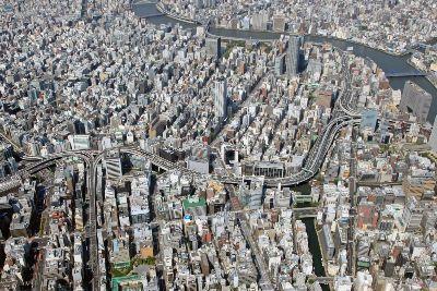 空撮 首都高のJCT(ジャンクション)