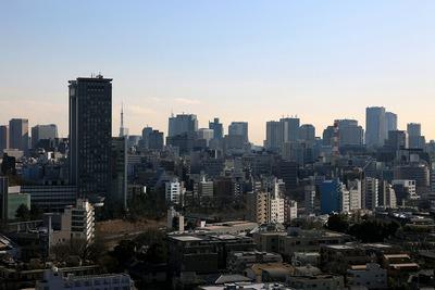 神楽坂アインスタワーからの眺め