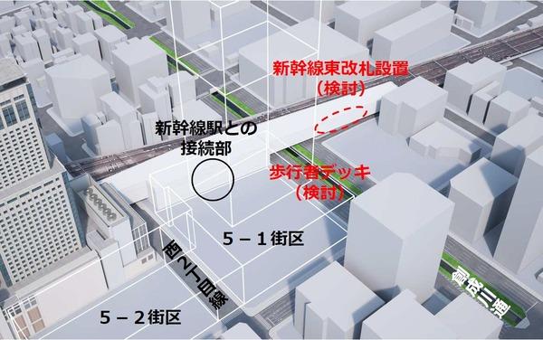 札幌駅交流拠点北5西1・西2地区再開発