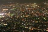 藻岩山から札幌の夜景