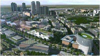 柏の葉スマートシティ 第2ステージ の将来イメージ図