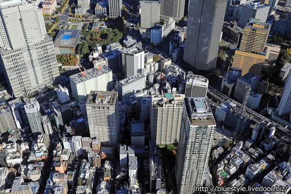 赤坂の空撮