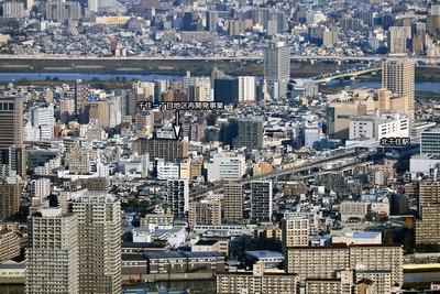 千住一丁目地区第一種市街地再開発事業方面