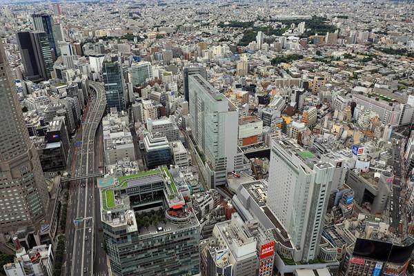 渋谷スカイから見た渋谷