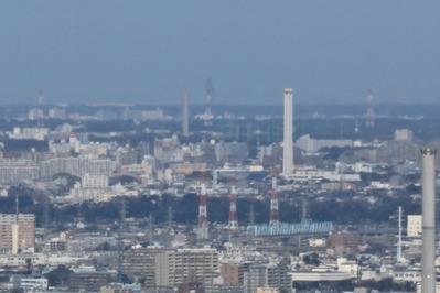 東京タワーから牛久大仏