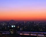 船堀トワイライト富士山-1280-1024
