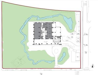 ラ・トゥール札幌伊藤ガーデン 敷地計画