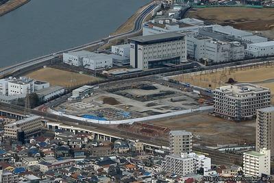 (仮称)TOKYOミライ金町大規模プロジェクトの空撮