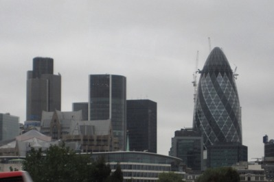 ロンドン超高層ビル群