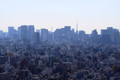 ロイヤルパークスタワー南千住からの眺め