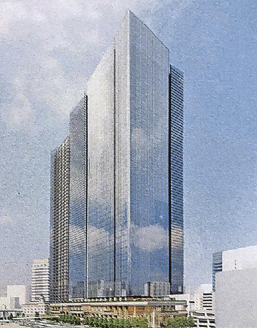 日本橋一丁目東地区 完成イメージ