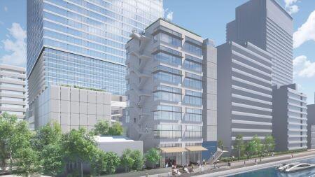 東京工業大学田町キャンパス土地活用事業 複合施設B
