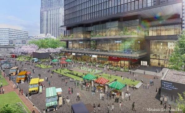 TOKYO TORCH 先行整備広場イメージ