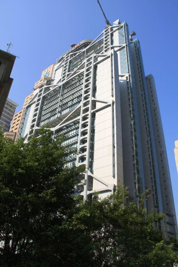 香港上海銀行とAT&Tビル(現ソニ...