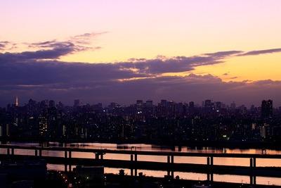 本日の東京トワイライト