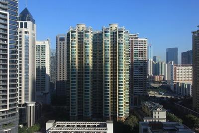「Leeden Hotel Guangzhou」の客室からの眺め