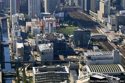 TGMM芝浦プロジェクトの空撮