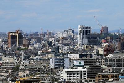 小岩駅方面の眺め